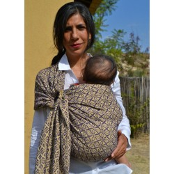 Poinsettia Yellow Ring Sling
