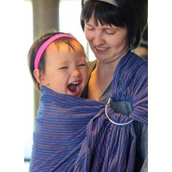 Donaji Blue Ring Sling