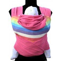 Rainbow Pink Mei Tai