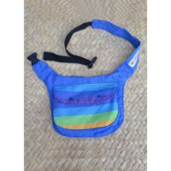 Waist bag Rainbow Blue