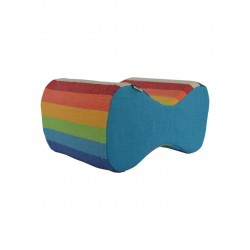 Crotch Cushion: Rainbow